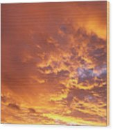Spectacular Sunrise Wood Print