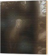 Spectral Sentinels Wood Print