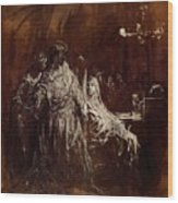 Spectrum Appearance Of Banquo Wood Print