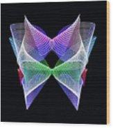 Spectrum Butterfly Wood Print