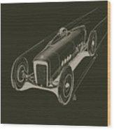 Speed Wood Print by Jeremy Lacy