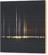 Speed Of Light Wood Print by Stephanie  Varner