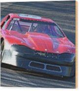 Speeding Thru Wood Print