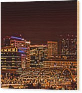 Speer Blvd Bridge Wood Print
