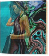 Spell Of A Woman Wood Print