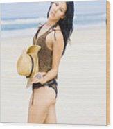 Spellbound Beach Beauty Wood Print