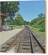 Spencer Railroad Station 2 Wood Print