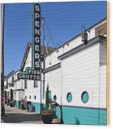 Spengers Restaurant Berkeley California Wood Print