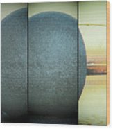 Sphere Wood Print