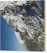 Sphinx Alp Wood Print