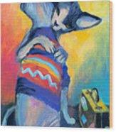 Sphynx Cats Friends Wood Print