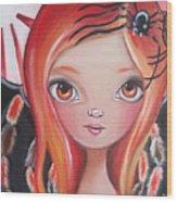 Spider Fairy Wood Print