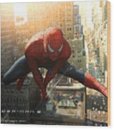 Spider-man 2 Wood Print
