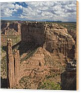Spider Rock Canyon De Chelly Wood Print