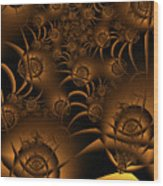 Spiders Wood Print