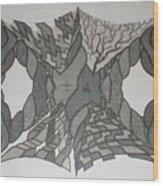 Spiderweb Wood Print