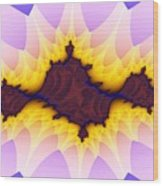 Spikey Flower Wood Print