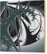 Spiky Bugs Wood Print