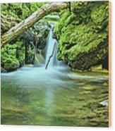 Spilling Over Dolomite Wood Print