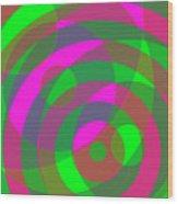 Spin 3 Wood Print