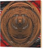 Spin Cycle Wood Print