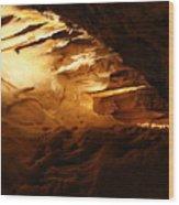 Spindles II - Cave Wood Print