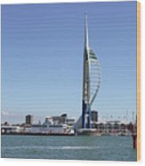 Spinnaker Tower Portsmouth England Wood Print
