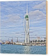 Spinnaker Tower Portsmouth Wood Print