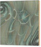 Spinning Galaxies Wood Print