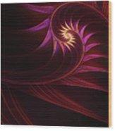 Spira Mirabilis Wood Print