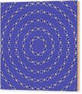 Spiral Circles Wood Print by Michael Tompsett