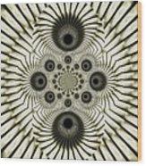 Spiral Eyes Wood Print