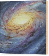 Spiral Galaxy 1 Wood Print