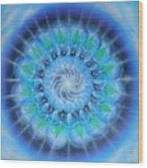 Spiral Gallaxies Wood Print