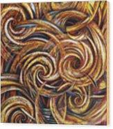 Spiral Journey Wood Print
