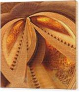 Spiral No. 2 Wood Print