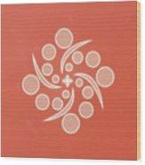 Spiral Of Life Wood Print
