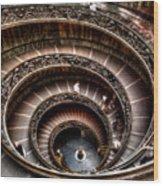 Spiral Staircase No1 Wood Print