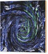 Spiral Vision Wood Print