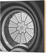 Spirals Wood Print