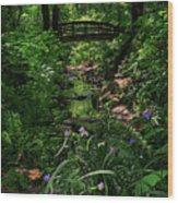 Spirit Bridge 2 Wood Print