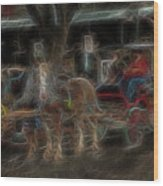 Spirit Carriage 3 Wood Print