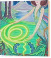 Spirit Guide Antarra Wood Print