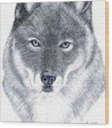Spirit Guide Wood Print