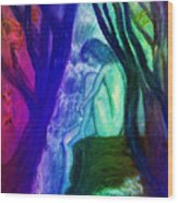 Spirit Guides II Wood Print by Patricia Motley