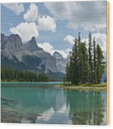 Spirit Island And The Hall Of The Gods Wood Print
