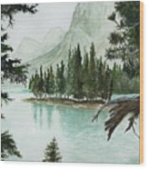 Spirit Lake Wood Print