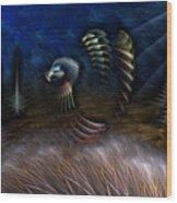 Spirit Of A Duck Wood Print