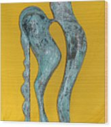Spirit Of A Young Horse Wood Print