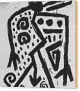 Spirit Of Man Wood Print